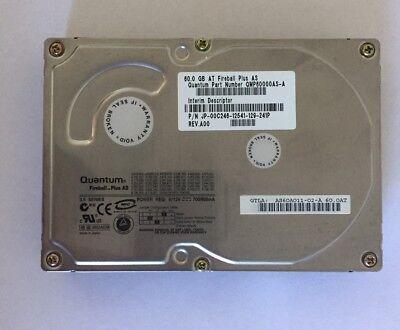 "Quantum Fireball Plus AS 3.5/"" 60GB IDE Hard Drive QMP60000AS-A Tested"