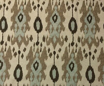 Ballard Designs Belgrano Ikat Spa Designer Multiuse Fabric By The Yard 55 W
