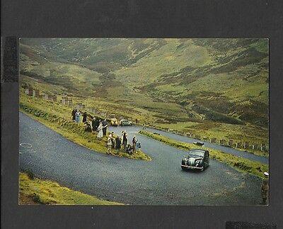 J.Arthur.Dixon Colour Postcard The Queens Car-Devils Elbow Perthshire Unposted