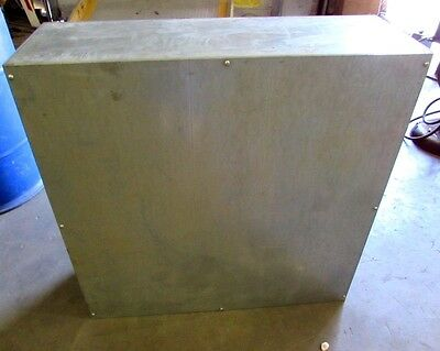 36 X 12 X 36 Metal Electrical Wire Enclosure Box Wlidnnb