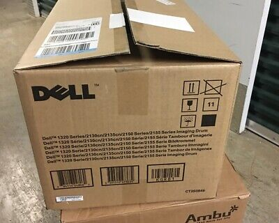 GENUINE NEW Dell IMAGING DRUM 1320 2130 2135 2150 2155 SERIES KGR81 SEALED  (2135 Yellow Imaging Drum)