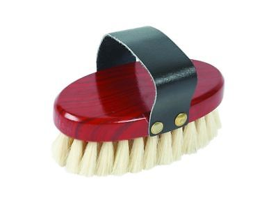 - Roma Goat Hair Body Brush Soft Bristles Give Horse Coats a Shine for Shows