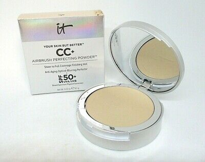 It Cosmetics Your Skin But Better CC+ Airbrush Perfecting Powder ~ Light