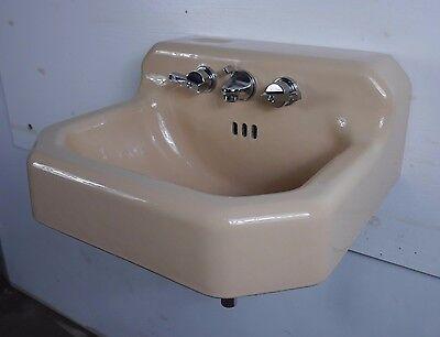 Antique Vintage American Standard Bathroom Sink U0026#39;Ledgewoodu0026#39; Persian  Brown