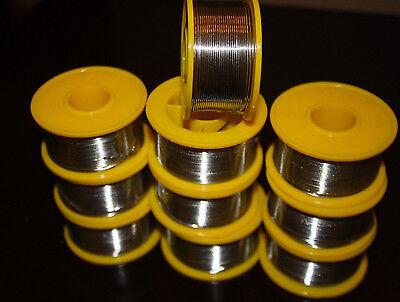 New 6040 Tinlead Flux 2 .8mm Tin Rosin Core Solder Wire 10 Rolls New