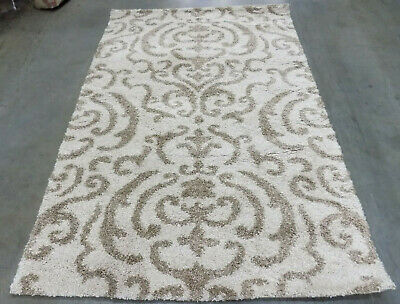 CREAM / BEIGE 4' X 6' Stained Rug, Reduced Price 1172559704 SG462-1113-4 ()