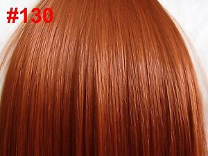 Real Ginger Hair Extensions 118