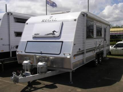 REDUCED: Regal RSV Caravan (2013)