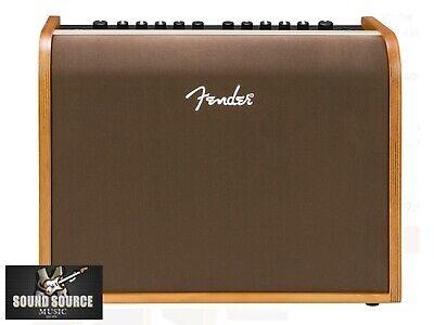 New Fender Acoustic 100 Acoustic Guitar Amp