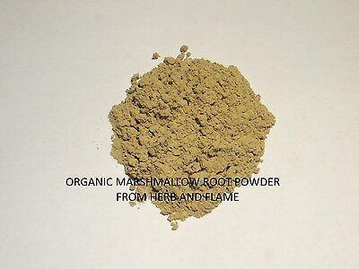 BULK ORGANIC Marshmallow Root POWDER (Up to 5 lb) 1 2 4 6 8 12 oz ounce lb - Marshmallow Root Powder