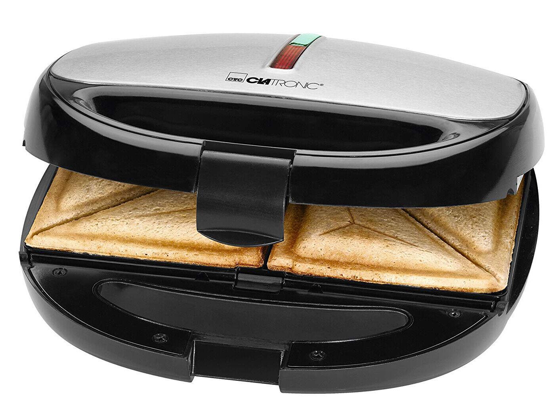 Clatronic Sandwich Kontaktgrill Toaster Waffeleisen Sandwichmeaker ST/WA3670