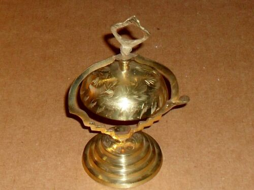 Solid brass desk bell made in India