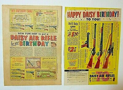 Vintage 1950s Daisy BB Gun Air Rifle Birthday Coupon Print Ad 1958 for sale  Shipping to Canada