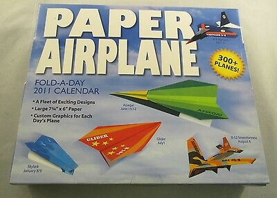 Fold A Paper Airplane (Paper Airplane Fold-a-day 2011 Calendar - Accord Publishing Lee &)