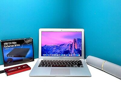 Apple MacBook Air 13 Laptop OSX-2016 *1 Year Warranty* Upgraded Core i5 1.8Ghz!