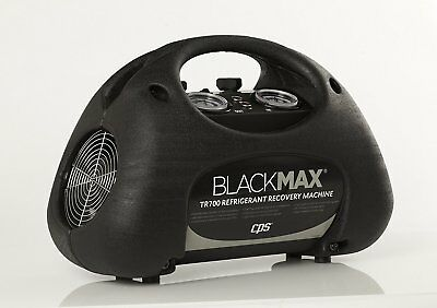 Cps Tr700 Blackmax Premium Twin Cylinder Refrigerant Recovery Machine