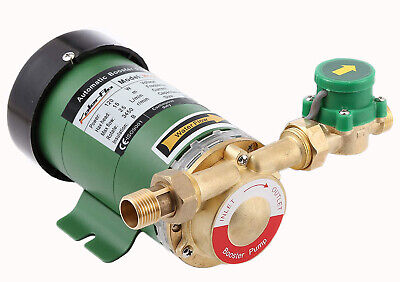 120w 110v Water Pressure Booster Pump 34 Inch Npt Automatic Shower Booster Pump