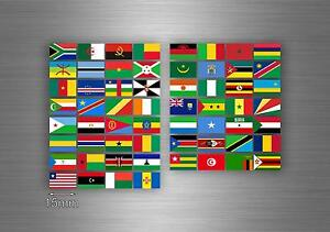 60x autocollant drapeau drapeau divers Afrique états del terre r4 scrapbooking-  afficher le titre dorigine - France - État : Neuf: Objet neuf et intact, n'ayant jamais servi, non ouvert, vendu dans son emballage d'origine (lorsqu'il y en a un). L'emballage doit tre le mme que celui de l'objet vendu en magasin, sauf si l'objet a été emballé par le fabricant d - France