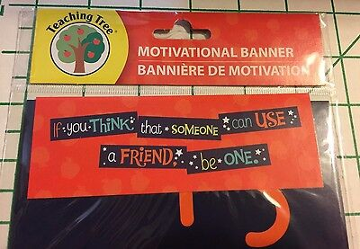 Teacher Resource  Motivational Banner   Character Building   Be A Friend