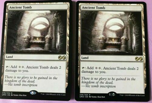 "MTG Tempest /""Ancient Tomb/"" NM//M unplayed x1"