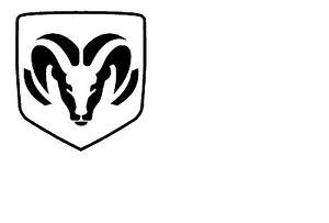 Dodge Ram Logo Decal