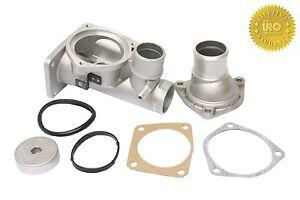 Aluminio-Termostato-carcasa-Juego-montaje-uro-aj82217kit-prm-para-JAGUAR