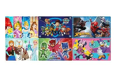 KIDS PLACEMATS FROZEN PRINCESS PJ MASKS PAW PATROL MINNIE  11.75