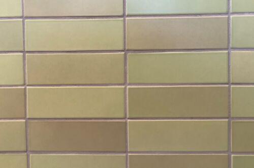 Heath Ceramics Handmade Tile ~ Lichen ~ 2x6 ~ 4 sq ft