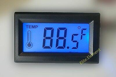 Digital Thermometer Blue Lcd Meter Fahrenheit Centigrade 5vdc -1080 Celcius