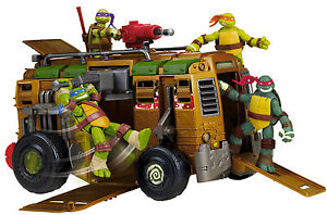 TEENAGE MUTANT NINJA TURTLES ~ LOOSE ~SHELLRAISER TMNT SEWER ASSAULT VEHICLE VAN