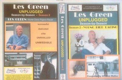 Racing Pigeon DVD - LES GREEN UNPLUGGED Season 2 - Young Bird Racing