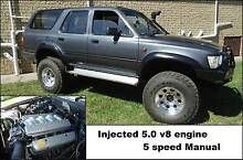 1993 5 litre 5 speedl toyota 4 runner part trade quad 4 wheeler Trevallyn West Tamar Preview