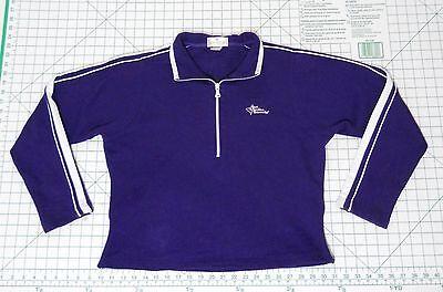 Carolina Pullover (EAST CAROLINA UNIVERSITY Sweater - Women's Size L - 1/2 Zip Pullover Sweatshirt)