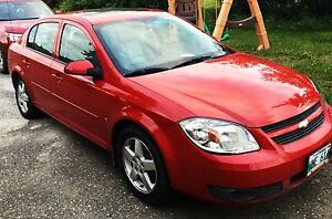 2008 Red Chevrolet Cobalt LT w/1SA