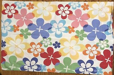 Big Party Store (Standard Pillowcase The Company Store Big Floral Rainbow Colors 100%)