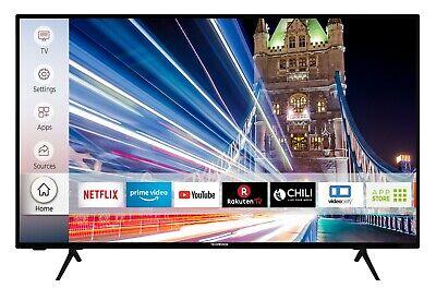 Techwood U50T52D 50 Zoll 4K Ultra HD Smart TV WLAN HDR10 Prime Video & Netflix