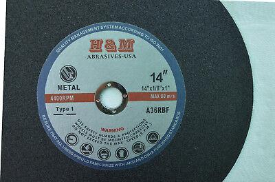 10pk 14 Abrasive Metal Cutting Wheel Blade Disc For Cutoff Tool Type 1