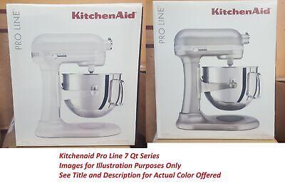 KitchenAid KSM7586PSR Pro Line 7-Qt Bowl Lift Stand Mixer Sugar Pearl Silver
