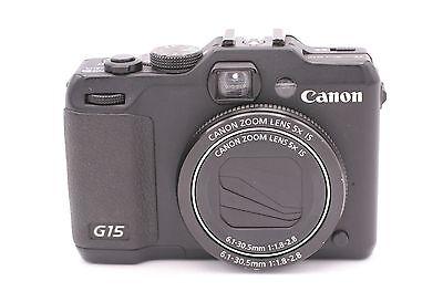 Canon Powershot G15 12.1mp Digitalkamera - ()
