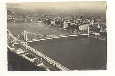 Vintage Postcard Budapest Bridge Ansicht Von View Of Tomori Ede