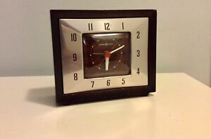 CANADIAN GENERAL ELECTRIC VINTAGE ALARM CLOCK LR14
