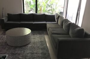 7 seater L shaped couch
