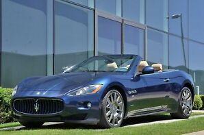 2011 Maserati GRANTURISMO CONVERTIBLE Convertible S PRIX REDUIT