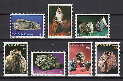 Greece 1980 Mineral Wealth Of Greece Mnh