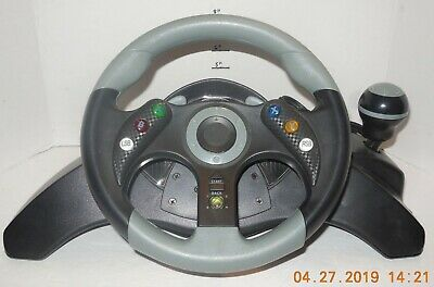 MAD CATZ MC2 XBOX 360 RACING WHEEL AND PEDALS CONTROLLER