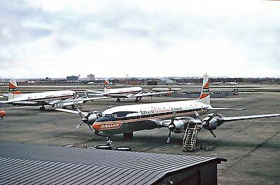 "Braniff Airways Douglas DC-7C ((8""x10"")) Print"