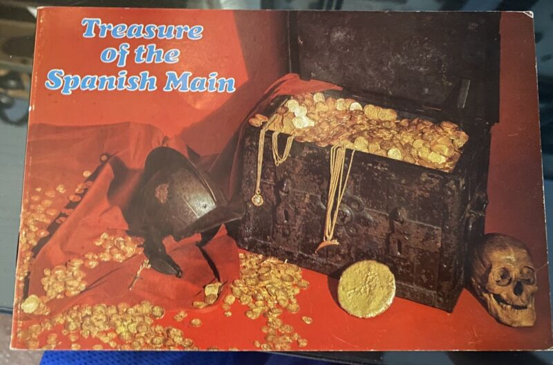 Treasure Of The Spanish Main 1967 Book (perfect Condition)