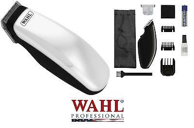 WAHL Cordless SUPER Pocket Pro Trimmer/Clipper & 2 Blades,Guide Combs*HORSE DOG