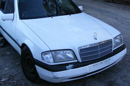 C200 Mercedes Benz sedan 1997 Wrecking most parts Panels Mardi Wyong Area Preview