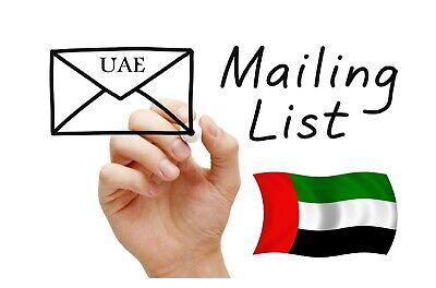 Uae Email List 700k United Arab Emirates Dubai
